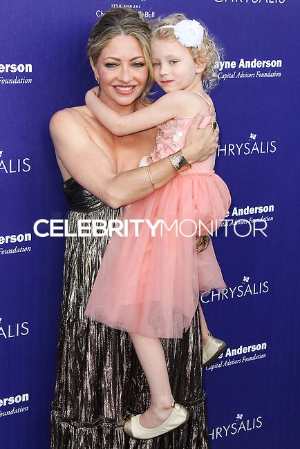 BRENTWOOD, LOS ANGELES, CA, USA - JUNE 07: Rebecca Gayheart, Georgia Dane at the 13th Annual Chrysalis Butterfly Ball held at Brentwood County Estates on June 7, 2014 in Brentwood, Los Angeles, California, United States. (Photo by Xavier Collin/Celebrity Monitor)