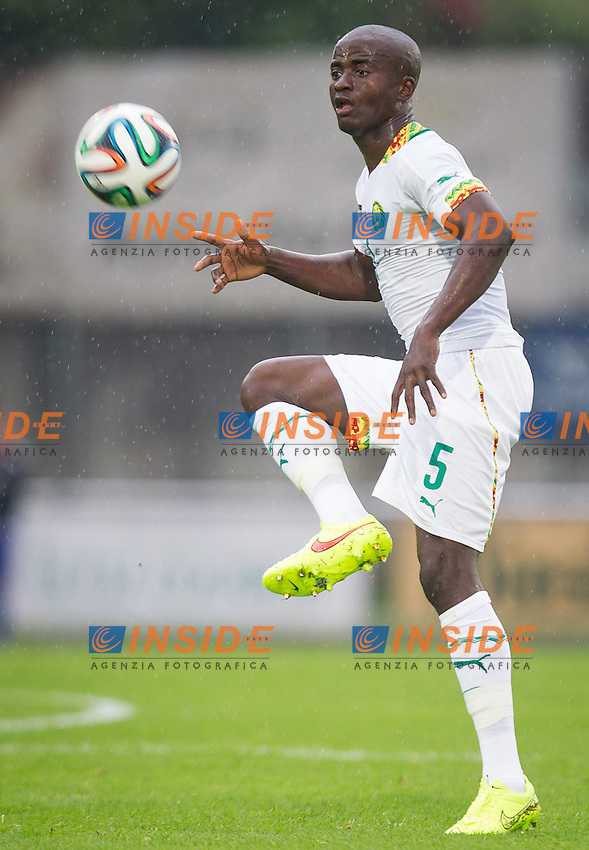 26.05.2014, Kufstein Arena, Kufstein, AUT, FIFA WM, Testspiel, Mazedonien vs Kamerun, im Bild Dany Noukeu (Kamerun) // Dany Noukeu (Kamerun) during friendly match between Macedonia and Cameroon for Preparation of the FIFA Worldcup Brasil 2014 at the Kufstein Arena in Kufstein, Austria on 2014/05/26. EXPA Pictures &copy; 2014, PhotoCredit: EXPA/ JFK <br /> Calcio Cameun Macedonia <br /> Foto Expa / Insidefoto  <br /> Calcio Preparazione Mondiali