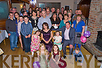 Margaret Brosnan, Boulicullane, Farranfore, pictured with her family and friends as she celebrated her 40th birthday in the Heights Hotel, Killarney on Saturday night.........
