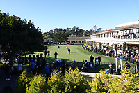 A general view of the putting green during the final round of the AT&T Pro-Am, Pebble Beach, Monterey, California, USA. 08/02/2020<br /> Picture: Golffile | Phil Inglis<br /> <br /> <br /> All photo usage must carry mandatory copyright credit (© Golffile | Phil Inglis)