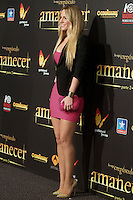 Manchester United's goalie David De Gea girlfriend Edurne Garcia during the premiere of The Twilight Saga: Breaking Dawn. November 15, 2012. (ALTERPHOTOS/Alvaro Hernández) /NortePhoto
