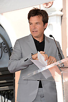 Jason Bateman at the Hollywood Walk of Fame Star Ceremony honoring actor Jason Bateman. Los Angeles, USA 26 July 2017<br /> Picture: Paul Smith/Featureflash/SilverHub 0208 004 5359 sales@silverhubmedia.com