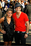 "HOLLYWOOD, CA. - April 30: Shawn Johnson and Mark Ballas arrive at the Los Angeles premiere of ""Star Trek"" at the Grauman's Chinese Theater on April 30, 2009 in Hollywood, California."