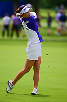 So Yeon Ryu (KOR) watches her approach shot on 10 during Thursday's round 1 of the 2017 KPMG Women's PGA Championship, at Olympia Fields Country Club, Olympia Fields, Illinois. 6/29/2017.<br /> Picture: Golffile | Ken Murray<br /> <br /> <br /> All photo usage must carry mandatory copyright credit (&copy; Golffile | Ken Murray)
