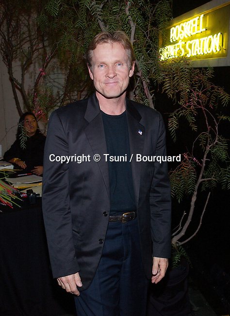 Williams Saddler arriving at the UPN private party for ROSWELL cast members and  winners of 20 major market national radio contest on the stage 30 on the Paramount lot in Los Angeles.  November 17, 2001            -            SaddlerWilliam10.jpg