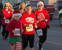 The 2015 Santa's Spirit Sprint December 5, 2015 at Barnesville, OH.