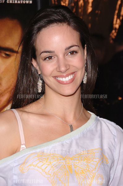 Actress TIFFANY DUPONT at the Los Angeles premiere of Ask the Dust..March 2, 2006  Los Angeles, CA..© 2006 Paul Smith / Featureflash