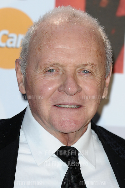 Sir Anthony Hopkins arriving for the Classic Brit Awards 2012 at the Royal Albert Hall, London. 02/10/2012 Picture by: Steve Vas / Featureflash