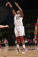 STANFORD, CA - JANUARY 14:  Nnemkadi Ogwumike of the Stanford Cardinal during Stanford's 80-43 win over the Washington State Cougars on January 14, 2009 at Maples Pavilion in Stanford, California.