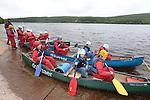 Kayaking on Pontsticill Reservoir at Dolygaer Outdoor Centre.<br /> 02.07.13<br /> &copy;Steve Pope-FOTOWALES