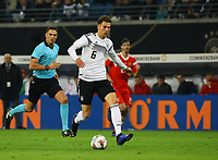 Leon Goretzka (Deutschland Germany) - 15.11.2018: Deutschland vs. Russland, Red Bull Arena Leipzig, Freundschaftsspiel DISCLAIMER: DFB regulations prohibit any use of photographs as image sequences and/or quasi-video.