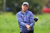 Joe Lyons (Galway) on the 5th tee during the Final of the Barton Shield in the AIG Cups & Shields Connacht Finals 2019 in Westport Golf Club, Westport, Co. Mayo on Saturday 10th August 2019.<br /> <br /> Picture:  Thos Caffrey / www.golffile.ie<br /> <br /> All photos usage must carry mandatory copyright credit (© Golffile | Thos Caffrey)