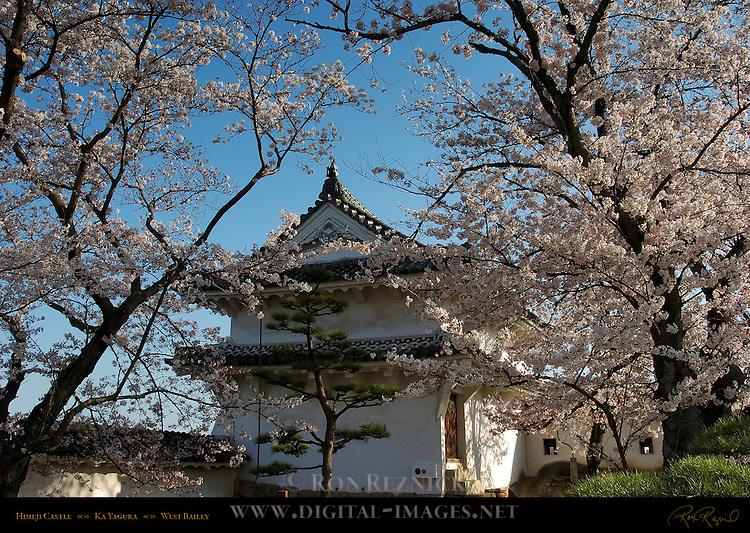 Himeji Castle Ka Yagura two-level southeast corner tower Nishi-no-Maru West Bailey Shirasagi-jo White Heron Castle Himeji Japan