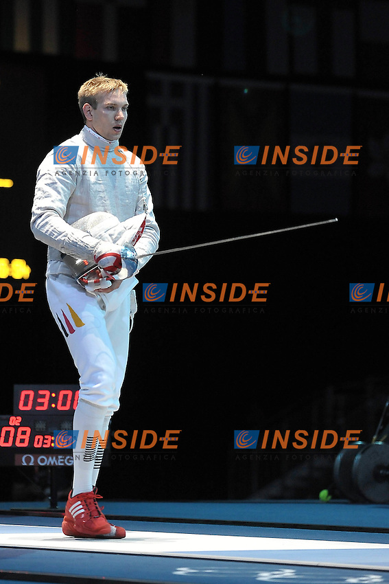 WAGNER BENEDIKT (GER) .Londra 28/7/2012 .Olympic Games London 2012.Olimpiadi Londra 2012.Foto Giovanni Minozzi / Insidefoto .Scherma Sciabola - Fencing Saber
