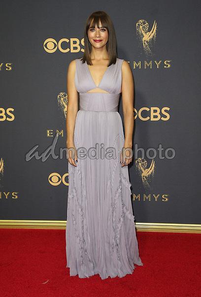 17 September 2017 - Los Angeles, California - Rashida Jones. 69th Annual Primetime Emmy Awards held at Microsoft Theater. Photo Credit: F. Sadou/AdMedia