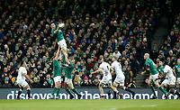 Saturday 2nd February 2019 | Ireland vs England<br /> <br /> James Ryan during the opening Guinness 6 Nations clash between Ireland and England at the Aviva Stadium, Lansdowne Road, Dublin, Ireland.  Photo by John Dickson / DICKSONDIGITAL