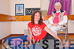 Yoga teacher, Bridget Moriarty, has launched a new programme of yoga classes to suit all abilities in a new studio at Seanscoil in Killorglin. .L-R Bridget Moriarty and Margaret Casey.