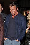 HOLLYWOOD, CA - JANUARY 07: Sean Penn arrives at the 'Gangster Squad' - Los Angeles Premiere at Grauman's Chinese Theatre on January 7, 2013 in Hollywood, California.