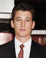 WESTWOOD, CA - OCTOBER 08: Actor Miles Teller arrives at the Premiere Of Columbia Pictures' 'Only The Brave' at Regency Village Theatre on October 8, 2017 in Westwood, California.<br /> CAP/ROT/TM<br /> &copy;TM/ROT/Capital Pictures