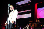 MIAMI BEACH, FL - AUGUST 13: Cristian Castro arrives to receive a gold and platinum award before performing during his Viva el Principe Tour at Fillmore Miami Beach on August 13, 2011 in Miami Beach, Florida.