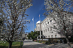 The Legislative Building in Carson City, Nev., on Tuesday, March 17, 2015. <br /> Photo by Cathleen Allison