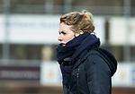 Den Haag - Hoofdklasse hockey dames, HDM-GRONINGEN  (6-2).  Willemijn Bos (Gron.) .  COPYRIGHT KOEN SUYK