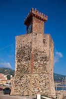 Italien, Elba, alter Wachturm in Rio Marina