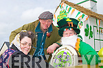 PARADE: Ready for the St Patrick's Day Parade in Ballybunion l-r: Denise Scanlon, Ted Griffin and Christy Moriarty...