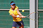 Brazilian tennis player Thaisa Grana Pedretti during Tennis Junior Fed Cup in Madrid, Spain. September 30, 2015. (ALTERPHOTOS/Victor Blanco)