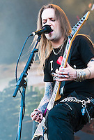 Children of Bodom performing at Heavy MTL 2011 in Montreal, QC.