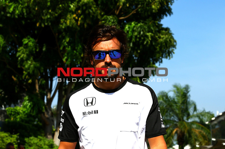27.03.2011, Sepang-International-Circuit, Malaysia, MAL , Gro&szlig;er Preis von Malaysia / Kuala Lumpur, Vorbericht, im Bild<br /> <br />  Fernando Alonso (ESP),  McLaren F1 Team<br /> for the complete Middle East, Austria &amp; Germany Media usage only!<br />  Foto &copy; nph / Mathis