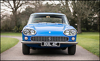 BNPS.co.uk (01202 558833).Pic: SimonClay/Bonhams/BNPS..***Please Use Full Byline***..First ever car...If your a Beatle...The beautiful Ferrari 330 GT coupe that music legend John Lennon purchased the day after passing his driving test in February 1965 is coming up for auction at Bonhams...Ironically 'Ticket to Ride' had just topped the charts on both sides of the Atlantic in the very same month and Beatlemania was at its height...Such was Lennon's fame at the time that a convoy of exotic motor dealers drove out to his Surrey pad to allow him to pick a car from his own drive...Lennon paid £6500 (£110,000 in todays money) for the exclusive italian motor and kept the car for three years through the height of the swinging sixties.