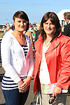 Sarah Dixon and Pauline McCourt at the Bellewstown Races 2011...(Photo credit should read Jenny Matthews www.newsfile.ie)....This Picture has been sent you under the conditions enclosed by:.Newsfile Ltd..The Studio,.Millmount Abbey,.Drogheda,.Co Meath..Ireland..Tel: +353(0)41-9871240.Fax: +353(0)41-9871260.GSM: +353(0)86-2500958.email: pictures@newsfile.ie.www.newsfile.ie.