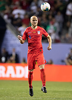 CHICAGO, IL - JULY 7: Michael Bradley #4 during a game between Mexico and USMNT at Soldiers Field on July 7, 2019 in Chicago, Illinois.