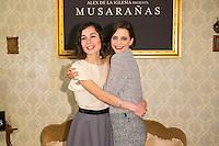 "Nadia Santiago and Macarena Gomez attend the presentation of the movie ""Musaranas"" in Madrid, Spain. December 17, 2014. (ALTERPHOTOS/Carlos Dafonte) /NortePhoto /NortePhoto.com"