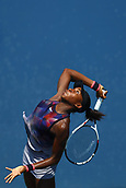 5th September 2017, Flushing Meadowns, New York, USA;  Junior Girls Cori Gauff (USA) during day nine match of the 2017 US Open tennis tournament on September 5, 2017, at Billie Jean King National Tennis Center in Flushing Meadow