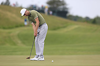Ross Fisher (ENG) on the 17th green during Wednesday's Practice Day of the 117th U.S. Open Championship 2017 held at Erin Hills, Erin, Wisconsin, USA. 14th June 2017.<br /> Picture: Eoin Clarke | Golffile<br /> <br /> <br /> All photos usage must carry mandatory copyright credit (&copy; Golffile | Eoin Clarke)