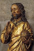 Europe/France/Auvergne/63/Puy-de-Dôme/Clermont-Ferrand: Cathédrale Notre-Dame-de-l'Assomption - La salle au trésor, détail Christ
