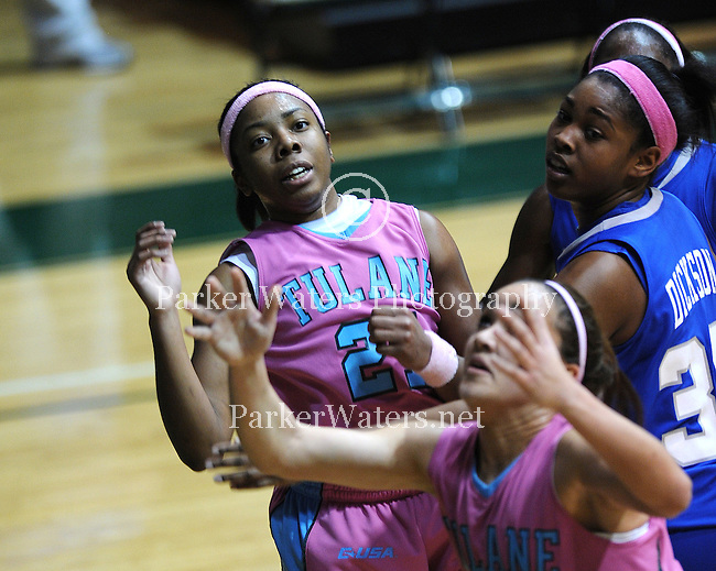 Tulane Women's Basketball Team defeats Memphis 86-61, improves their record to 20-5 and moves into first place in C-USA.