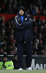 Richard Money manager of Cambridge Utd - FA Cup Fourth Round replay - Manchester Utd  vs Cambridge Utd - Old Trafford Stadium  - Manchester - England - 03rd February 2015 - Picture Simon Bellis/Sportimage