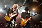 POMPANO BEACH FL - FEBRUARY 10: Rickey Medlocke and Gary Rossington of Lynyrd Skynyrd perform at The Pompano Beach Amphitheater on February 10, 2017 in Pompano Beach, Florida. Photo by Larry Marano © 2017