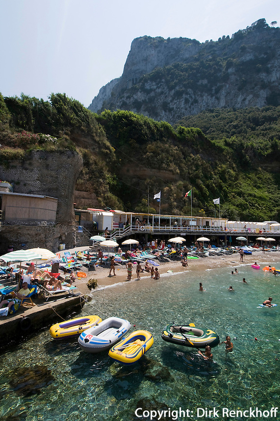 Italien, Capri, Bad Bagni di Tiberio