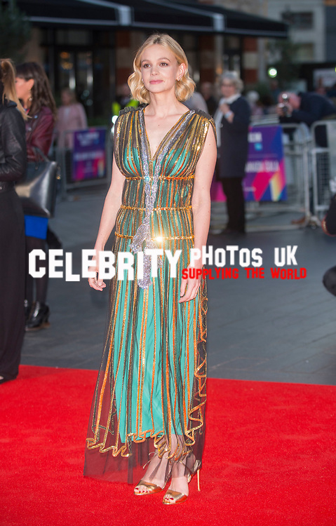 Carey Mulligan at the 'Mudbound' film premiere, BFI London Film Festival