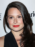 WEST HOLLYWOOD, CA, USA - APRIL 08: Katie Lowes at the Marie Claire Fresh Faces Party Celebrating May Cover Stars held at Soho House on April 8, 2014 in West Hollywood, California, United States. (Photo by Celebrity Monitor)