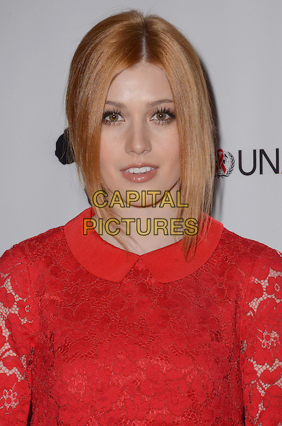 01 December - Beverly Hills, Ca - Katherine McNamara. Arrivals for the Inaugural World AIDS Day Benefit presented by UnAIDS-USA and Africa Rising held at Sofitel Los Angeles. <br /> CAP/ADM/BT<br /> &copy;BT/ADM/Capital Pictures