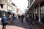 Pedestrianised shopping street, Den Helder, Netherlands