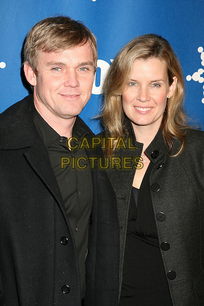 RICK SCHRODER & ANDREA BERNARD.The Fox All-Star Winter 2007 TCA Press Tour Party at Villa Sorriso, Pasadena, California, USA, .20 January 2007..half length.CAP/ADM/BP.©Byron Purvis/AdMedia/Capital Pictures.