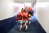 San Diego, CA - Sunday January 21, 2018: Denmark prior to an international friendly between the women's national teams of the United States (USA) and Denmark (DEN) at SDCCU Stadium.