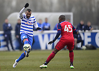 Sandro of QPR and Franck Songo?o of Chicago Fire