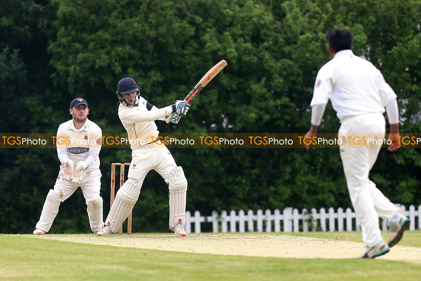 T Ballington in batting action for Shenfield during Shenfield CC vs Hornchurch CC, Shepherd Neame Essex League Cricket at Chelmsford Road on 13th May 2017